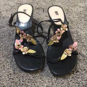 Darling floral BP heels